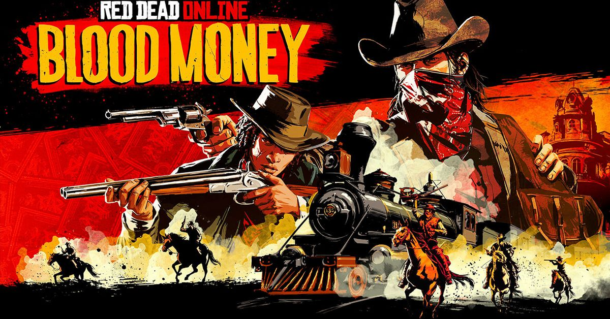 Red Dead Online's Blood Money update is free to start, adds more crime - Polygon