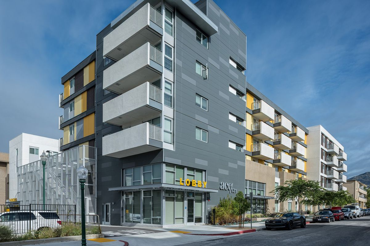 New affordable apartments in glendale are geared toward for Affordable house