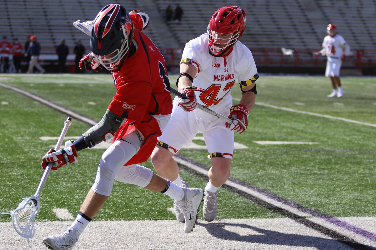 Maryland lacrosse Curtis Corley vs. Richmond
