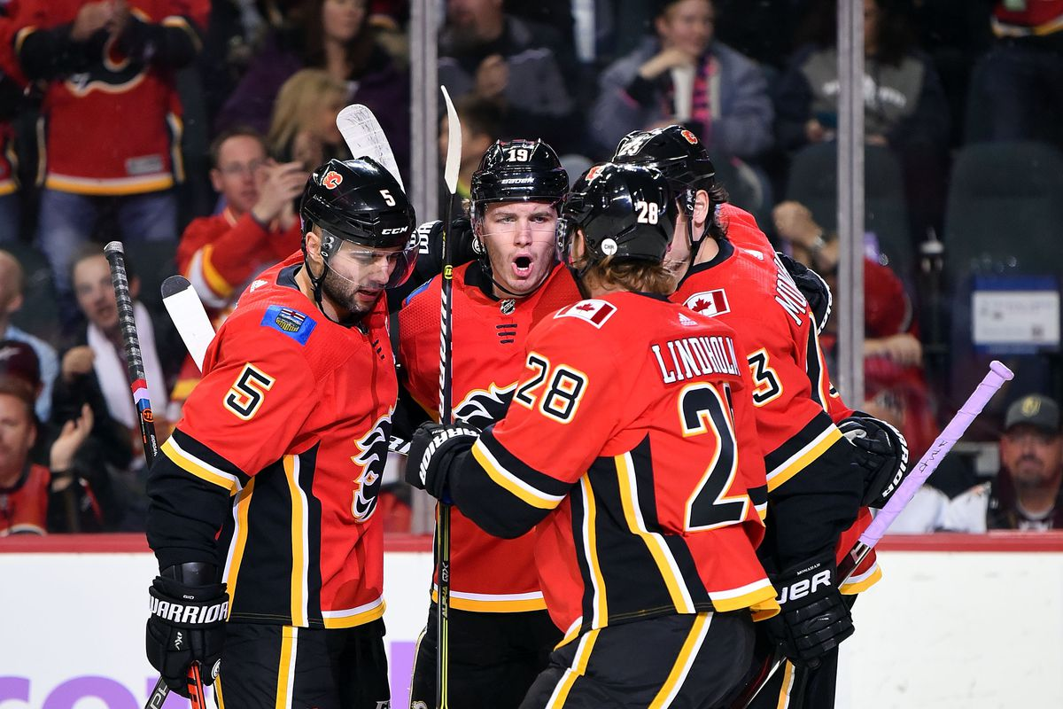 NHL: NOV 19 Golden Knights at Flames
