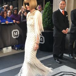 Anna Wintour is officially on her way.