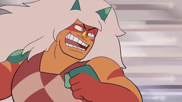 Jasper in steven universe future