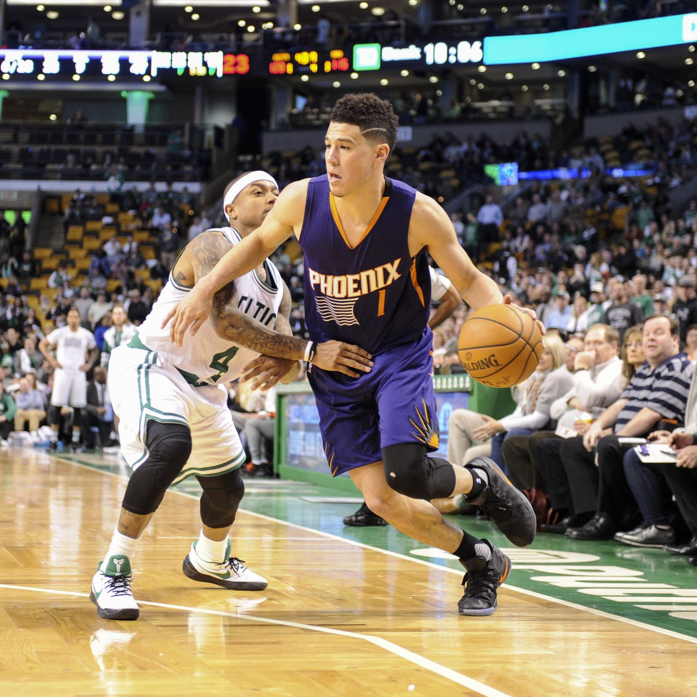 quality design 06088 6e5a6 9 ridiculous stats from Devin Booker's 70-point game ...