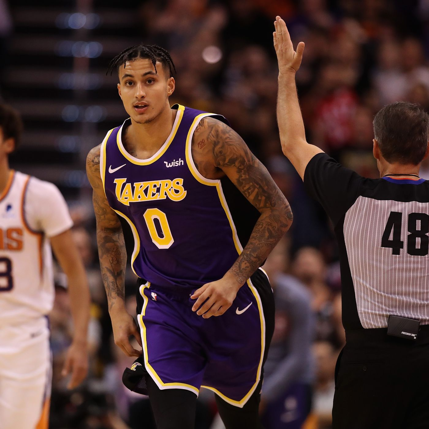 Lakers Highlights Kyle Kuzma Looked Like His Old Self In