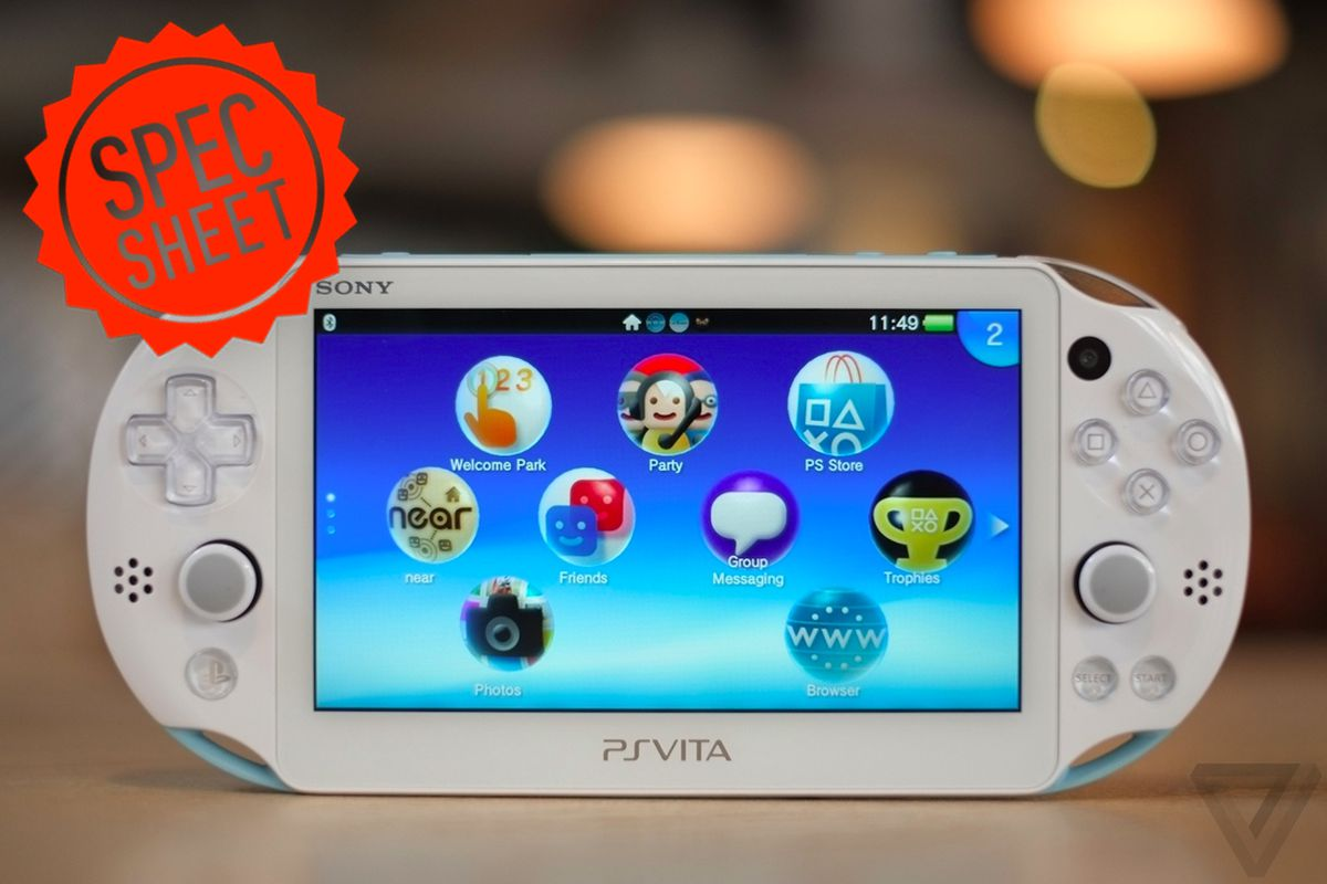 Spec Sheet Sonys Slimmer Playstation Vita Takes On The Top