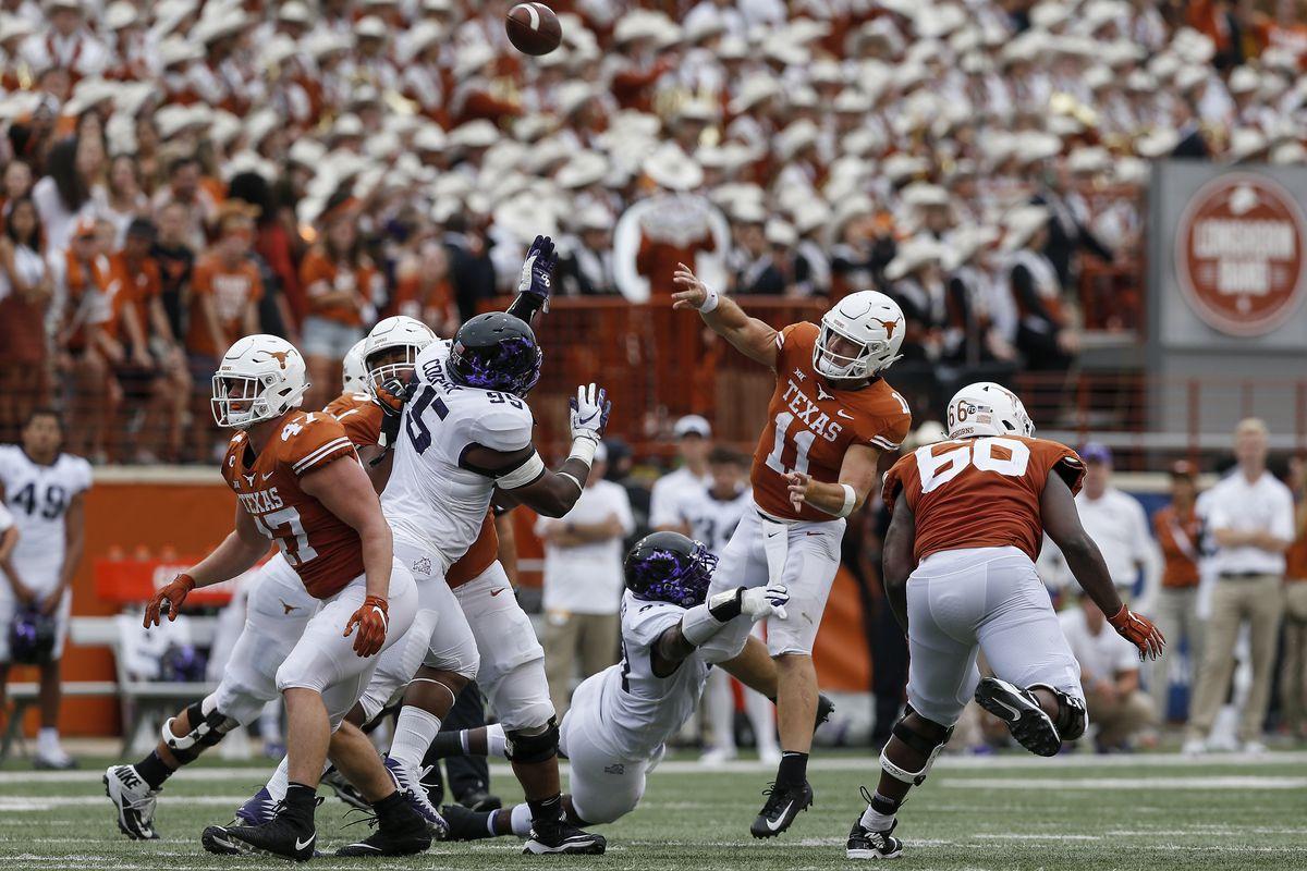 No. 15 Texas opens as underdogs vs. TCU