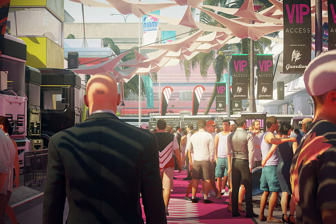 how hitman 2 s developers turned its gigantic levels into ever evolving playgrounds