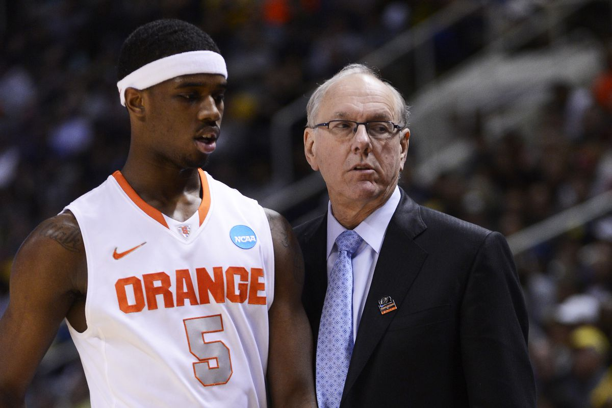 C.J. Fair came up more than once duing Boeheim's interview with ESPN.