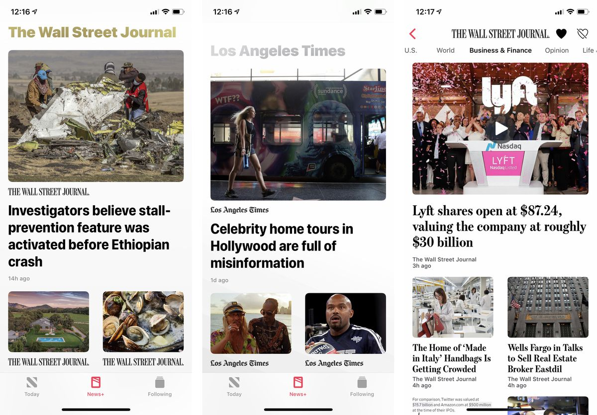 One week with Apple News Plus: a messy but good-enough Netflix for