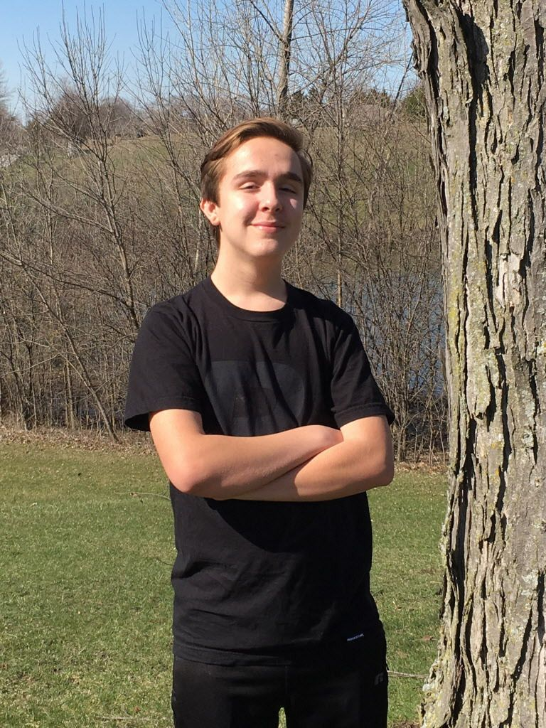 Anthony Parello, now 16, has made a strong recovery from liver disease after receiving a transplant from Kendra Perpich.   Provided photo