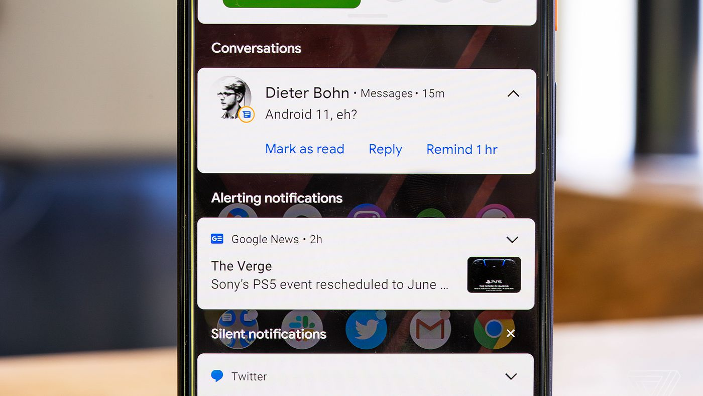 Android 11 May Be The Best Texting Platform If You Use Multiple Chat Apps The Verge