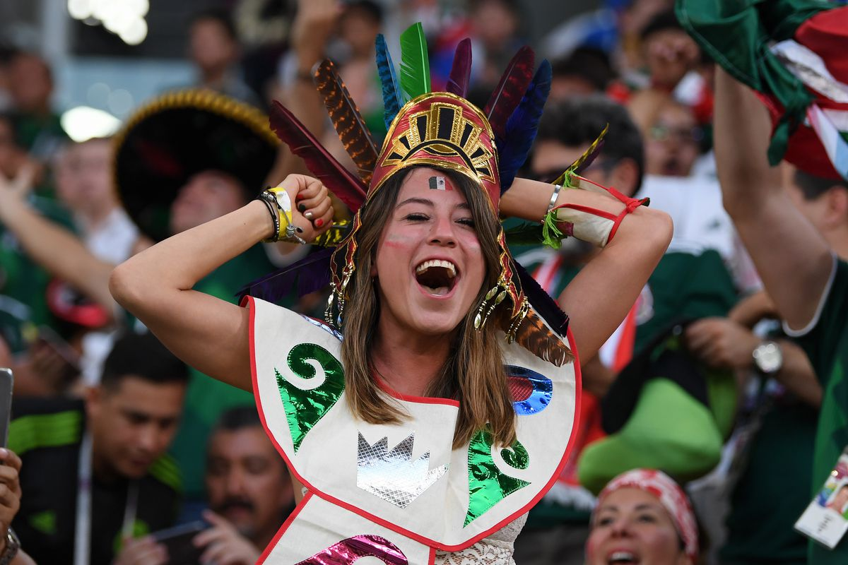 Mexico and South Korea fans will have a good night tonight.