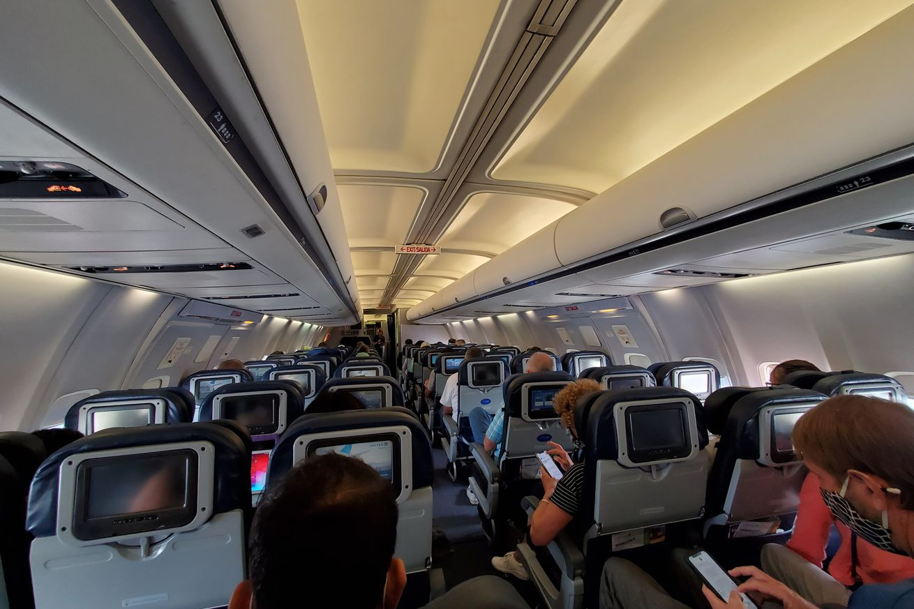 United Airlines Cabin