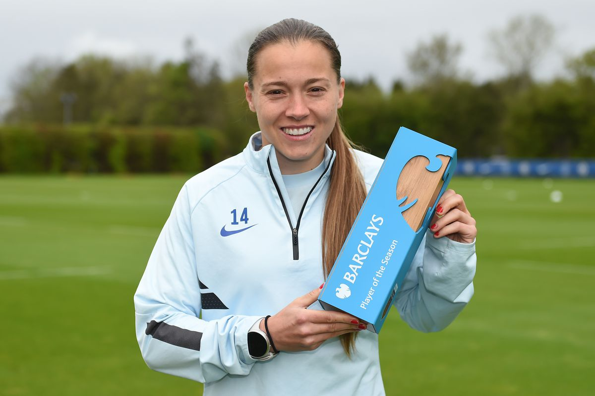 Fran Kirby of Chelsea is Announced as the WSL Player of the Season