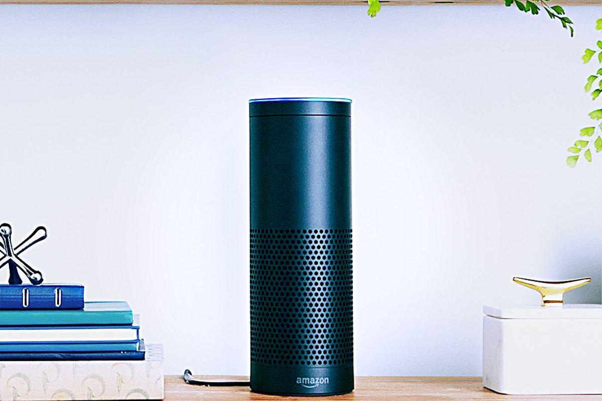 The Amazon Echo smart home hub