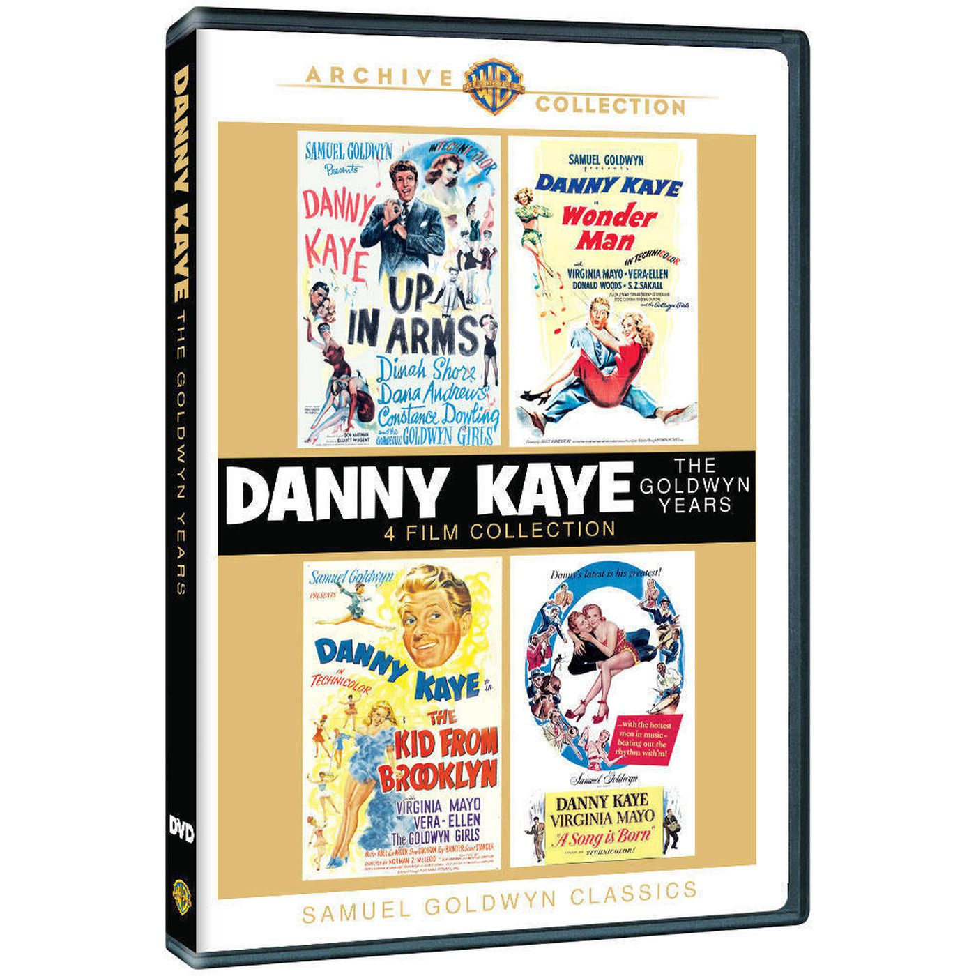Chris Hicks: 3 films starring Danny Kaye make their DVD