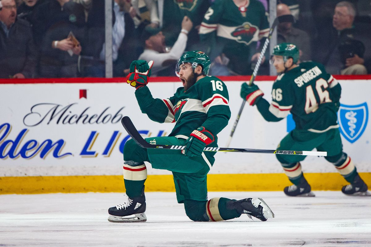 Jason Zucker S Road To Wild Stardom Capped Off With 30 Goal