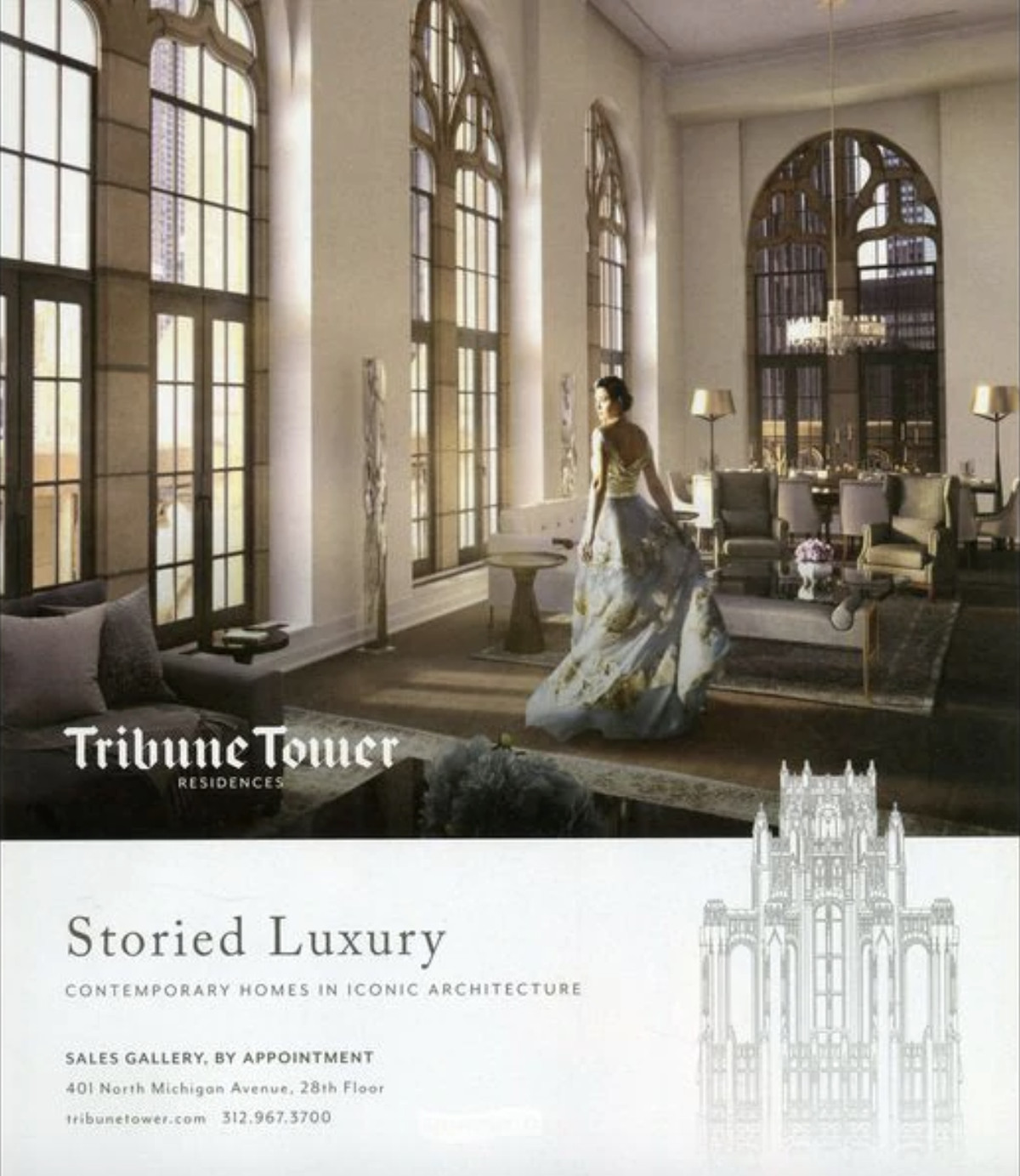 Tribune Tower Condos Will Sell For Between $700K And $7M