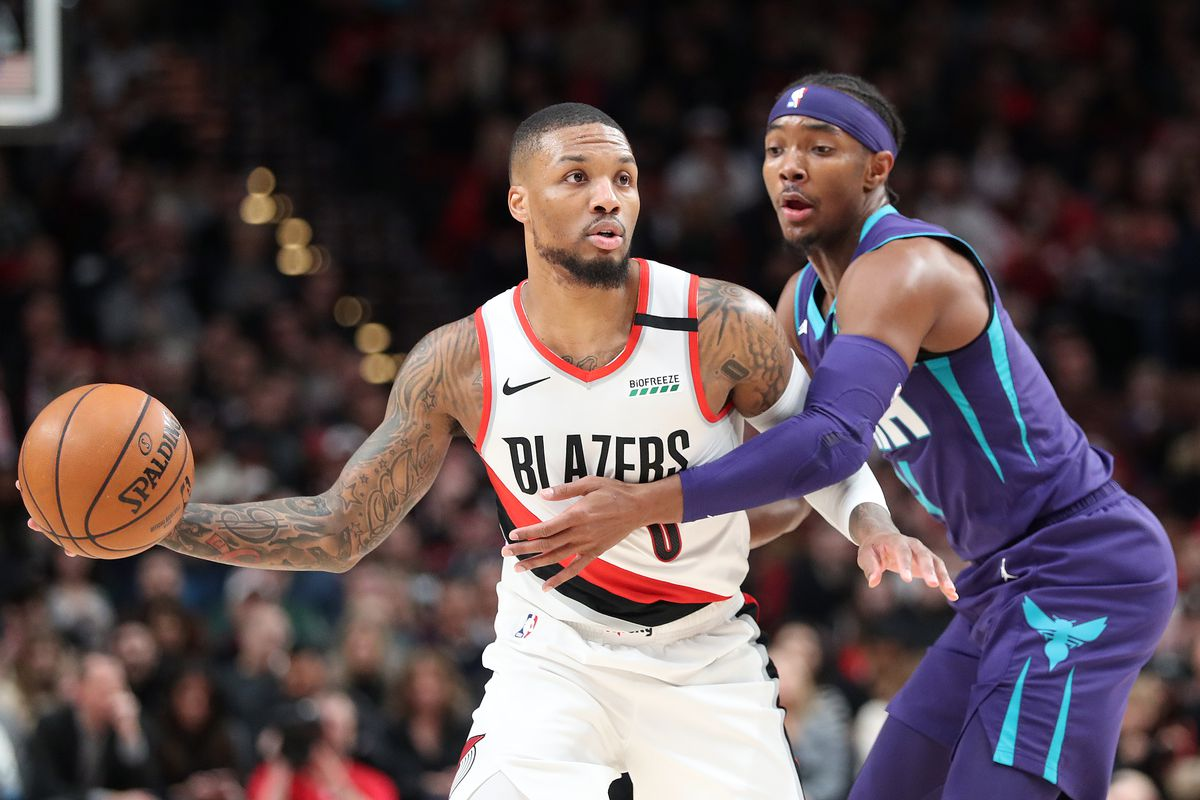 Charlotte Hornets v Portland Trail Blazers