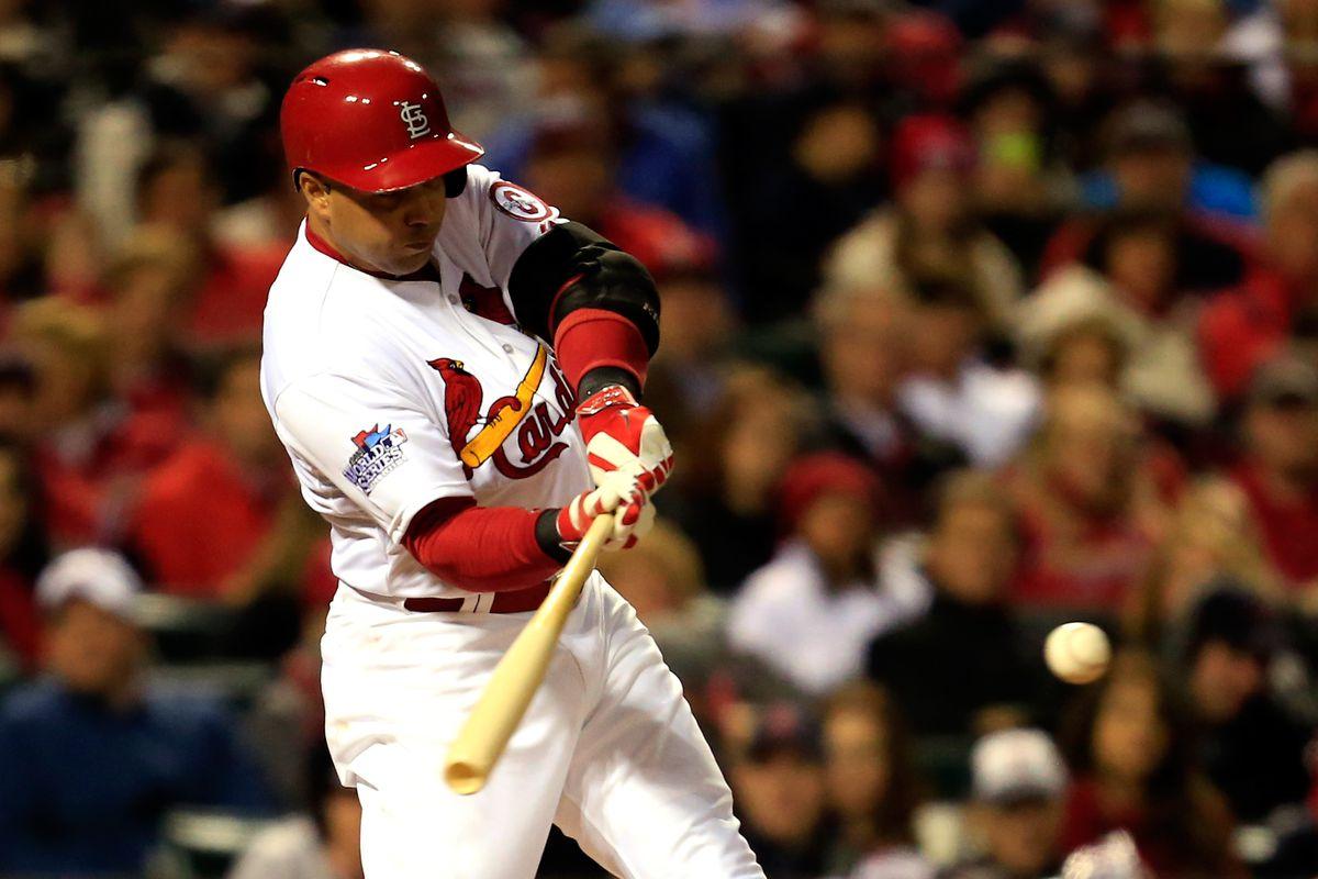 Carlos Beltran S Cardinals Postseason History Viva El Birdos