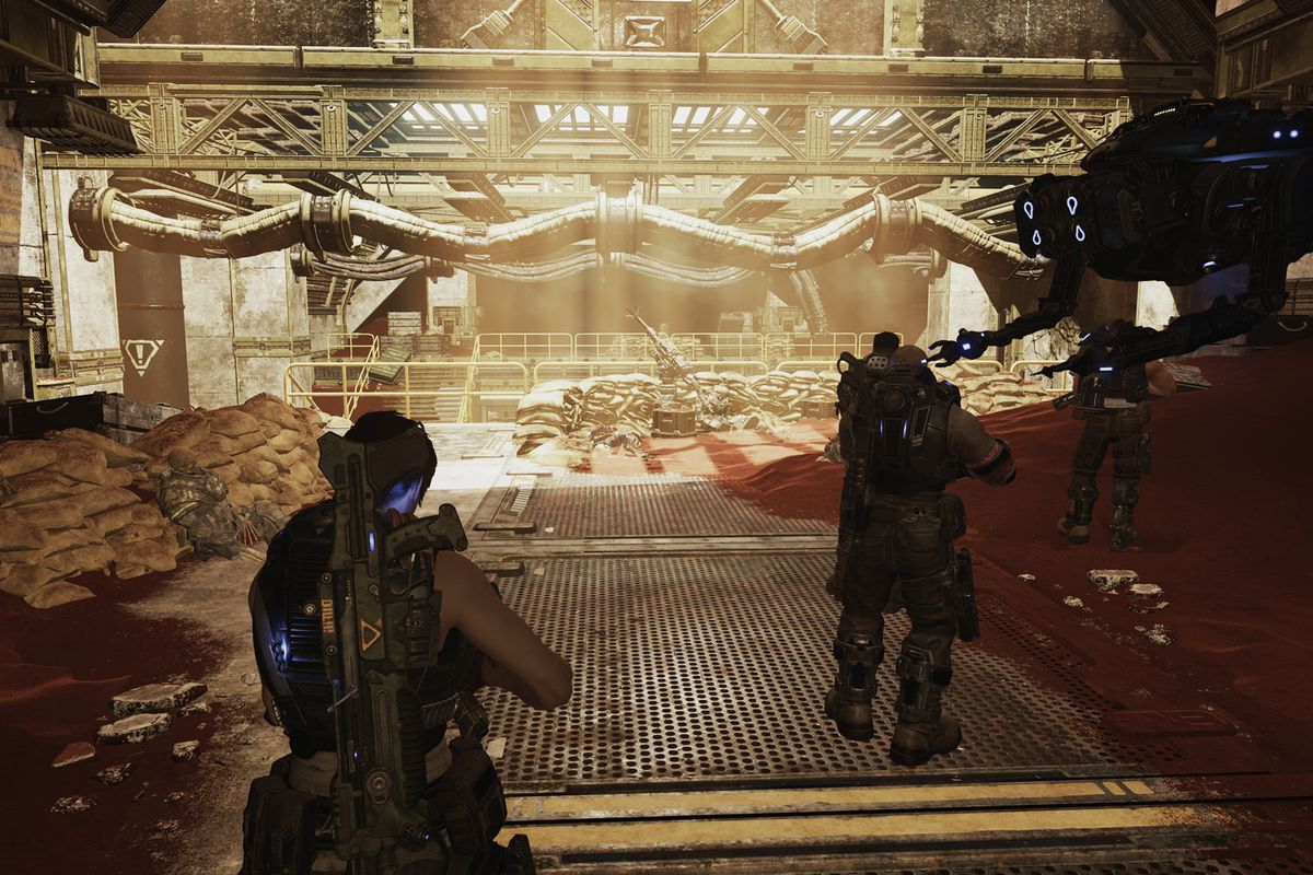 Gears 5 collectibles Act 3 – Chapter 2: Rocket Plan guide