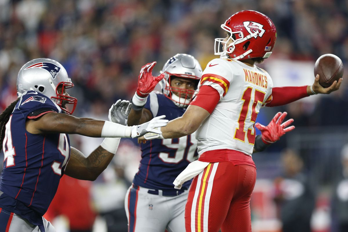 check out 8fba7 2265f NFL  Kansas City Chiefs at New England Patriots