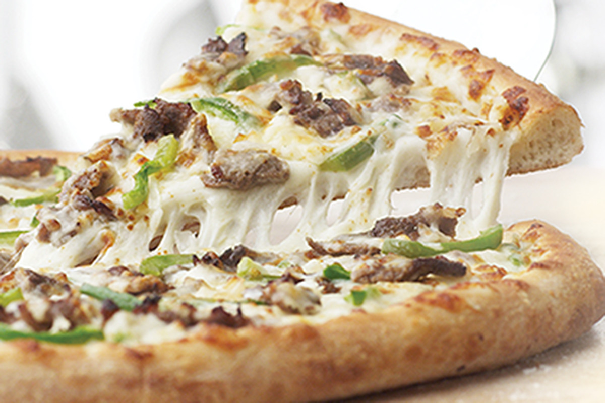 papa johns philly cheese steak pizza