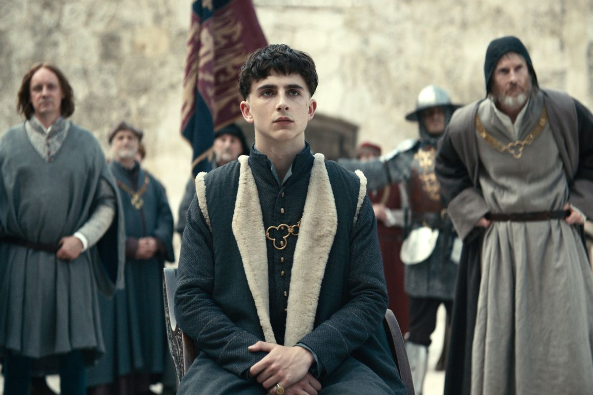 'The King' has more Timothée Chalamet than Shakespeare