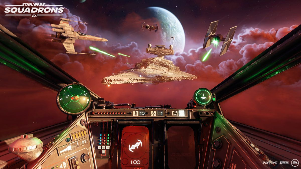 Star Wars Squadrons Review As Good And As Hard As Actually Flying An X Wing The Verge