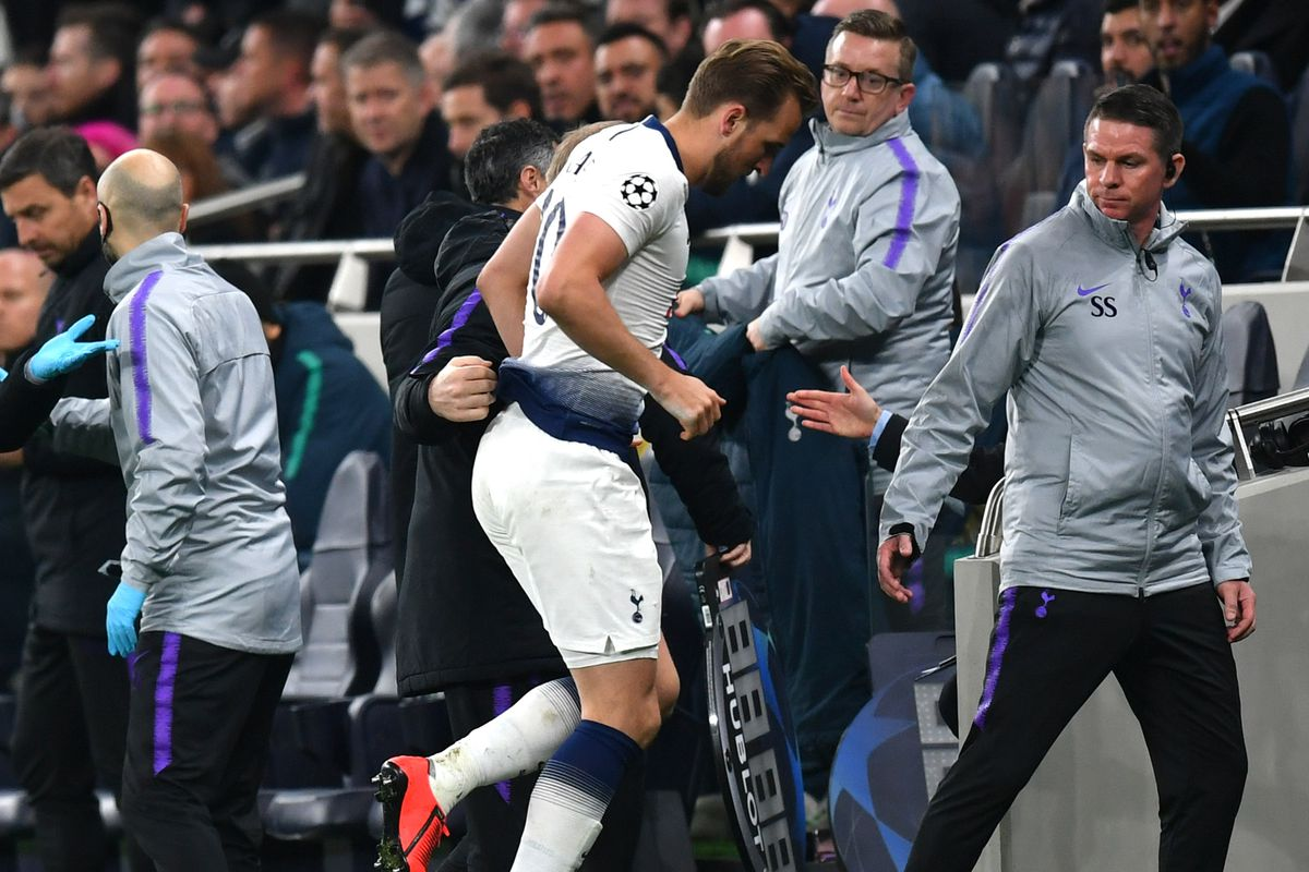 Harry Kane - Tottenham Hotspur - UEFA Champions League Quarter Final: First Leg