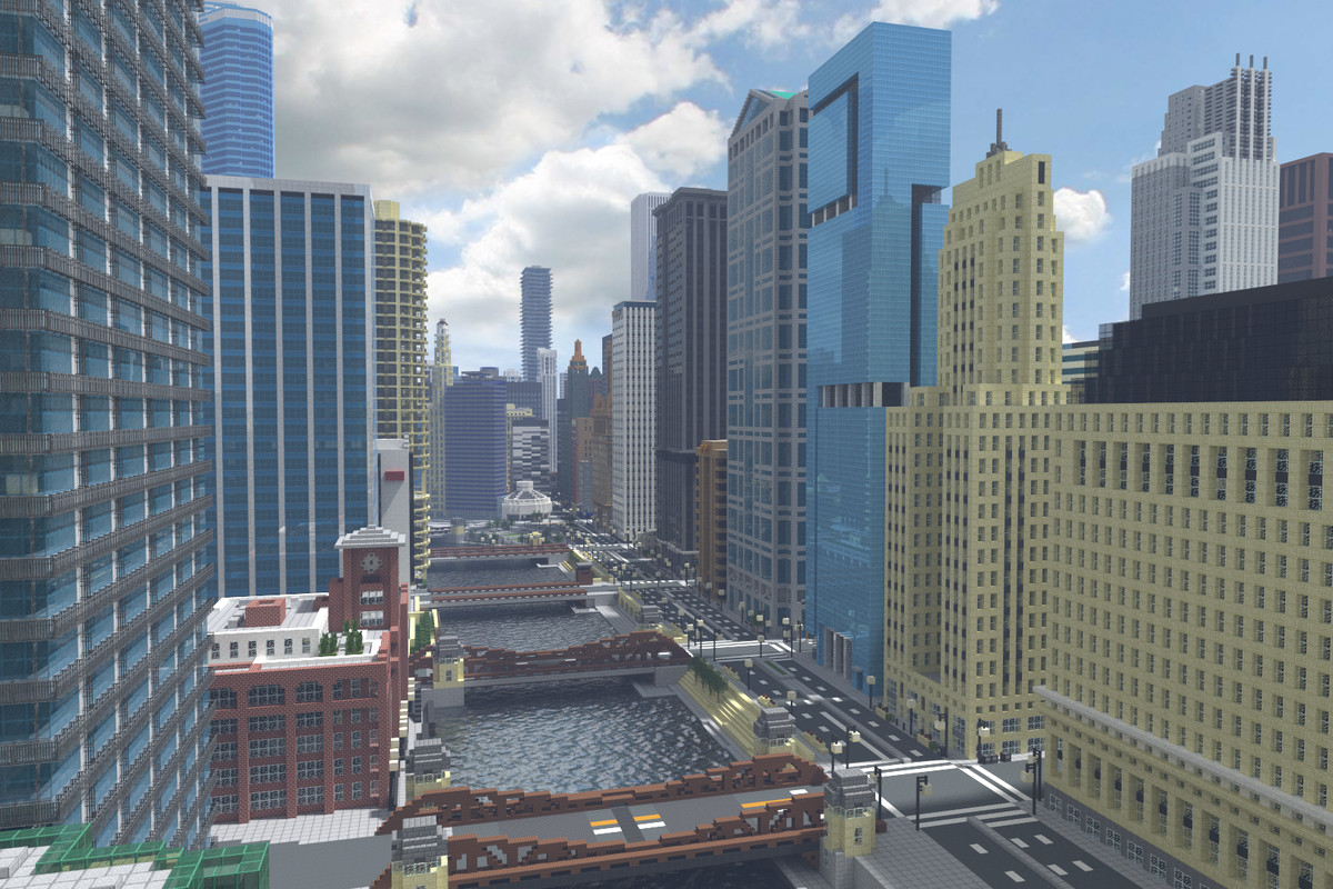 Recreating Chicago's famous skyline in Minecraft - Curbed