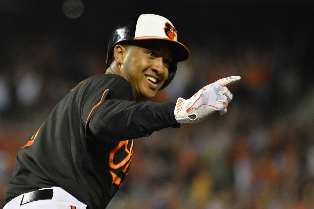 Jonathan Schoop and the O's walked off on Friday night