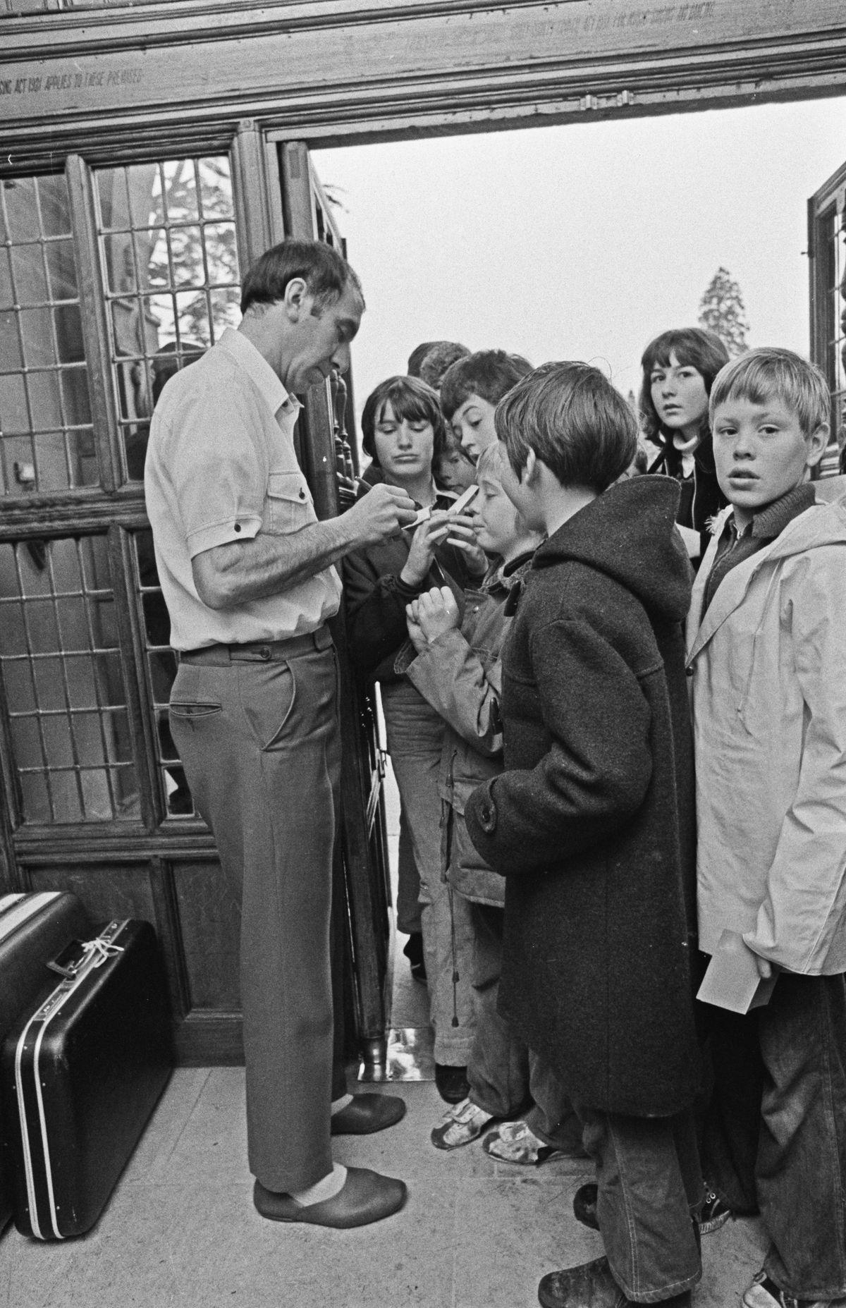 Bob Stokoe In London