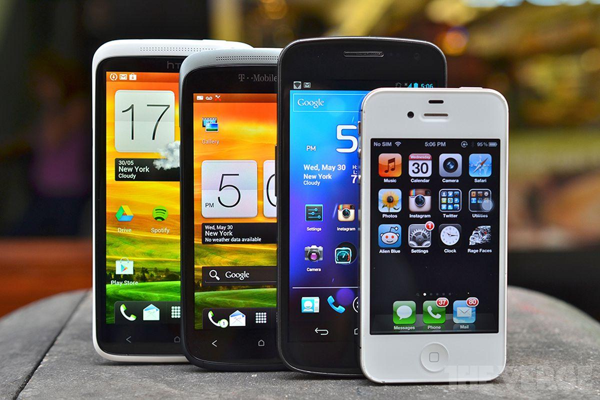 Smartphone buyer's guide lineup