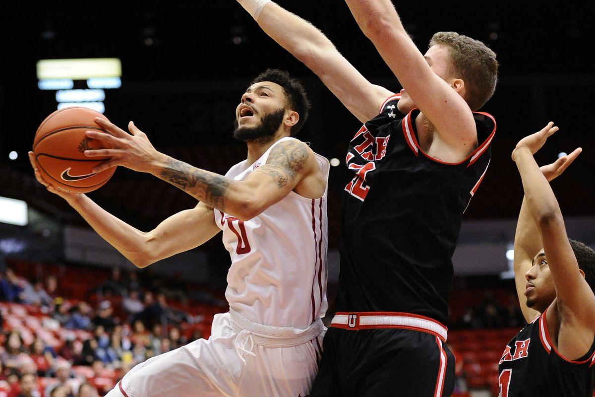 NCAA Basketball: Utah at Washington State