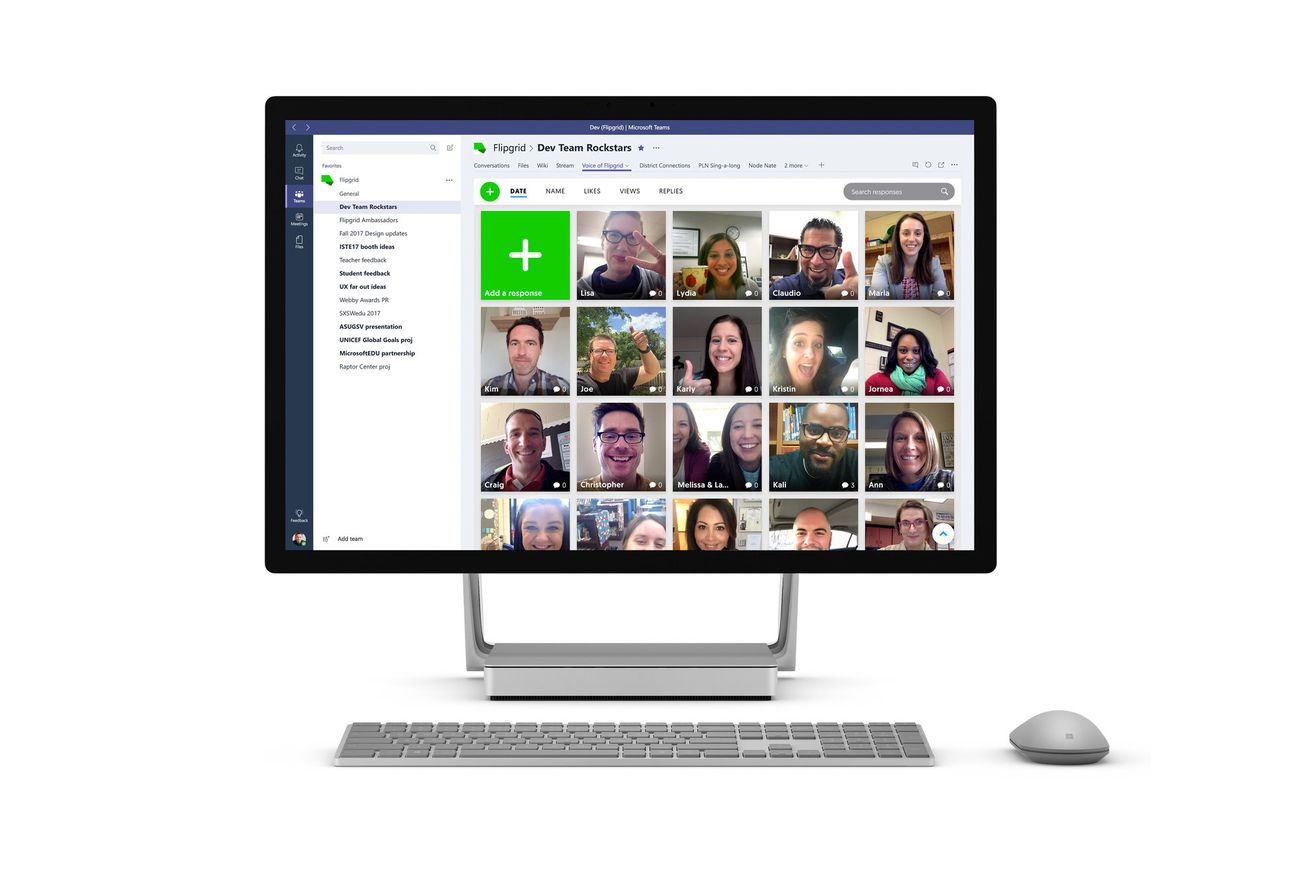 microsoft extends education push with acquisition of flipgrid a student video discussion platform