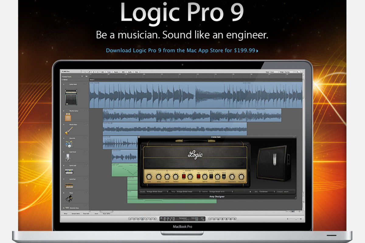 Logic Pro 9 Now Available In Mac App Store For 199 99