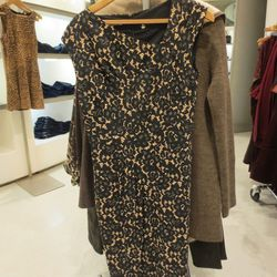 Michael Kors black lace silk dress, $494.50