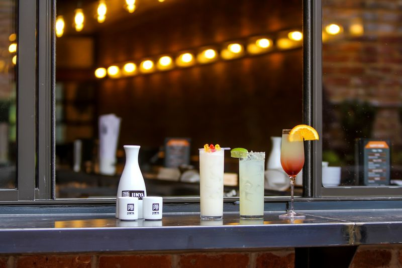 There's rotating wine and sake on tap for $7 each, as well as a list of $13  cocktails (some drop to $7 during happy hour). Photo: Peter Stepanek