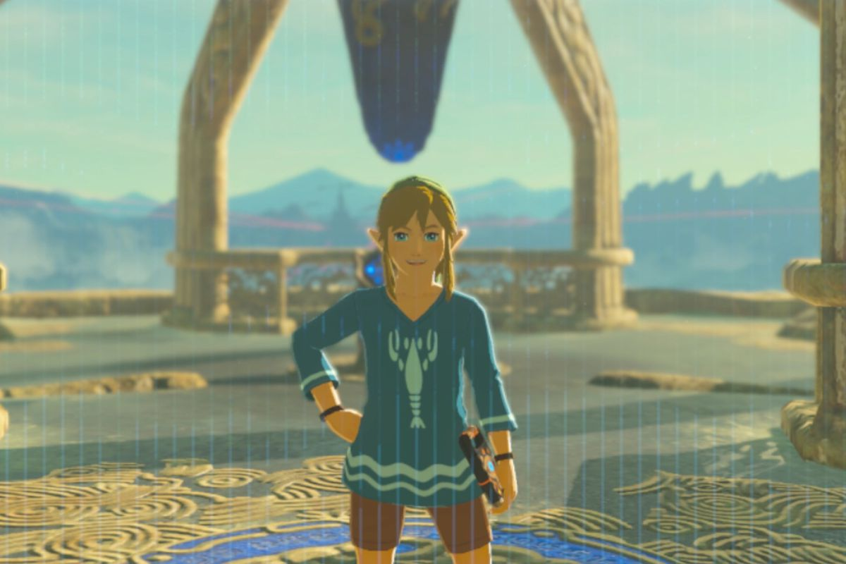7b760bc71bb9 Zelda Breath of the Wild Champions' Ballad DLC guide: EX Treasure Garb of  Winds side quest (Island Lobster shirt)