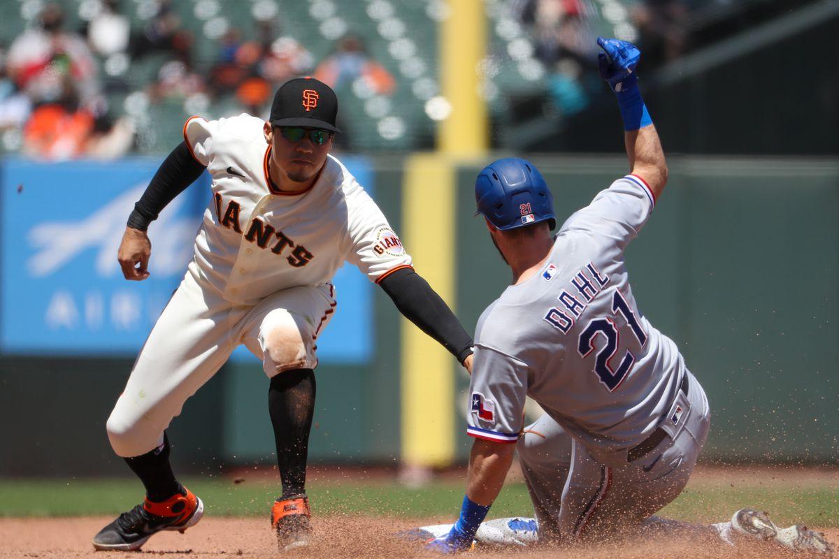 MLB: MAY 11 Rangers at Giants