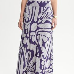 "<a href=""http://bananarepublic.gap.com/browse/product.do?cid=17051&vid=1&pid=905319&scid=905319002""> Banana Republic printed silk skirt</a>, $98 bananarepublic.com"