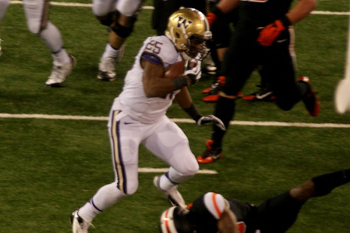 The Fight Hunger Bowl might be the last game as a Husky for Washington running back Bishop Sankey.