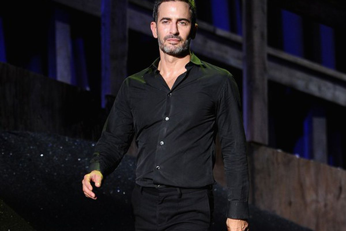 Marc Jacobs at NYFW spring 2014, via Getty