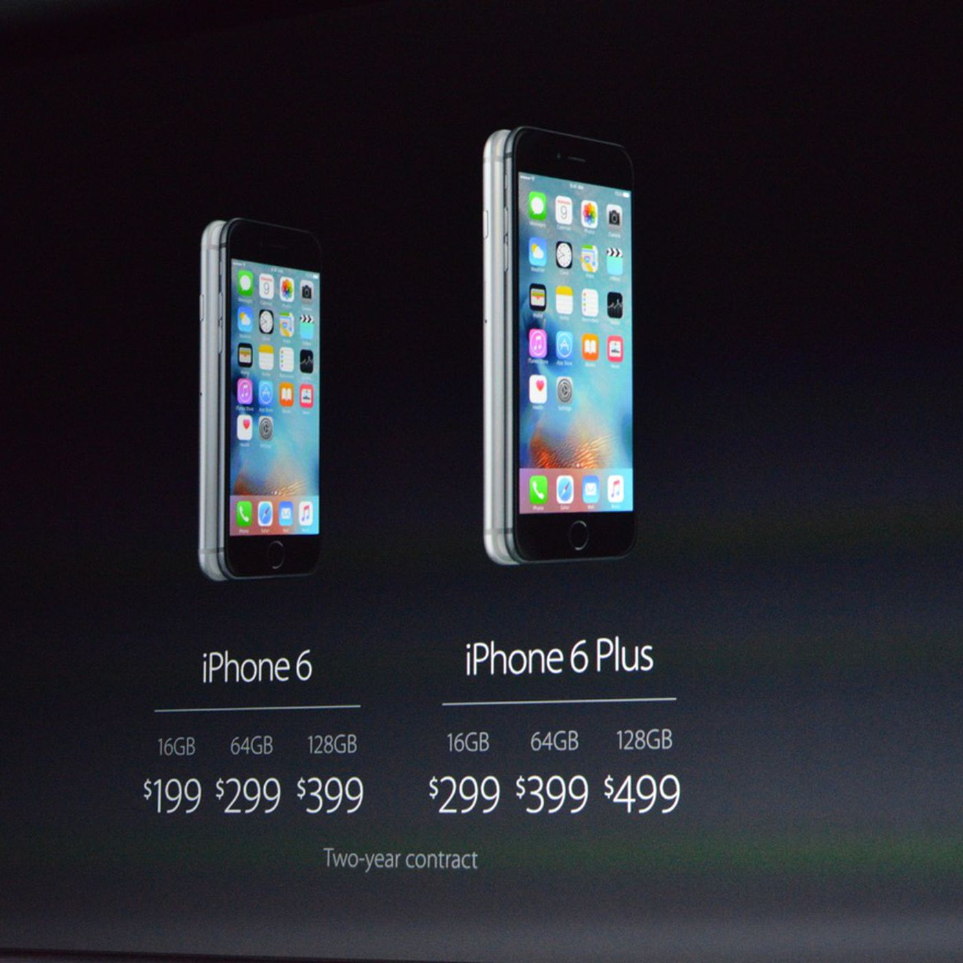 iPhone 6S release date September 25th, prices start at $199