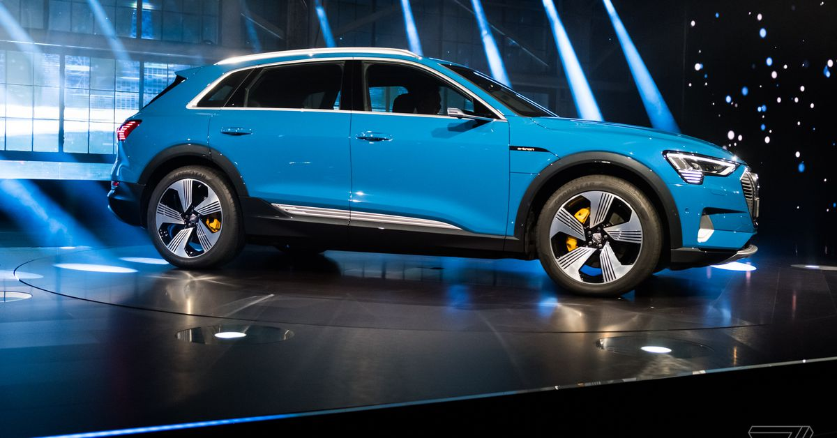 The Electric Car Is Here If Youve Got The Money The Verge - Audi electric cars