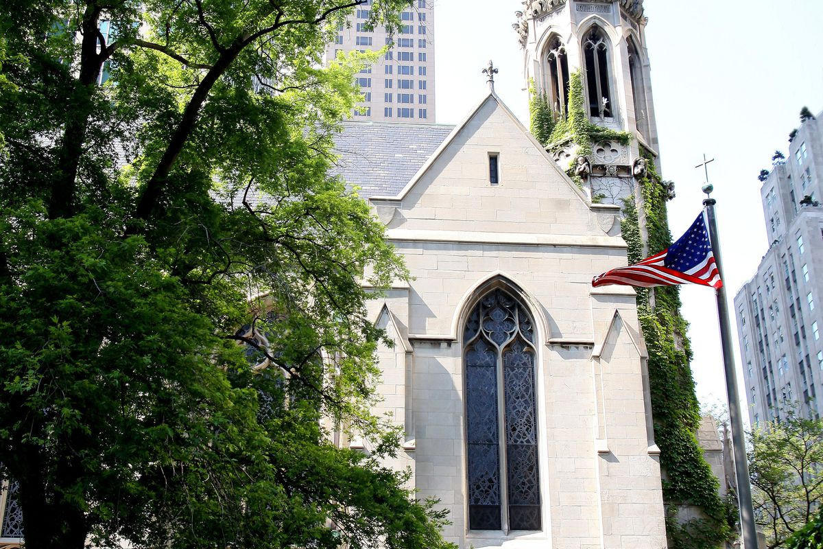 The Fourth Presbyterian Church in Chicago, site of the Ernie Banks memorial service on Saturday