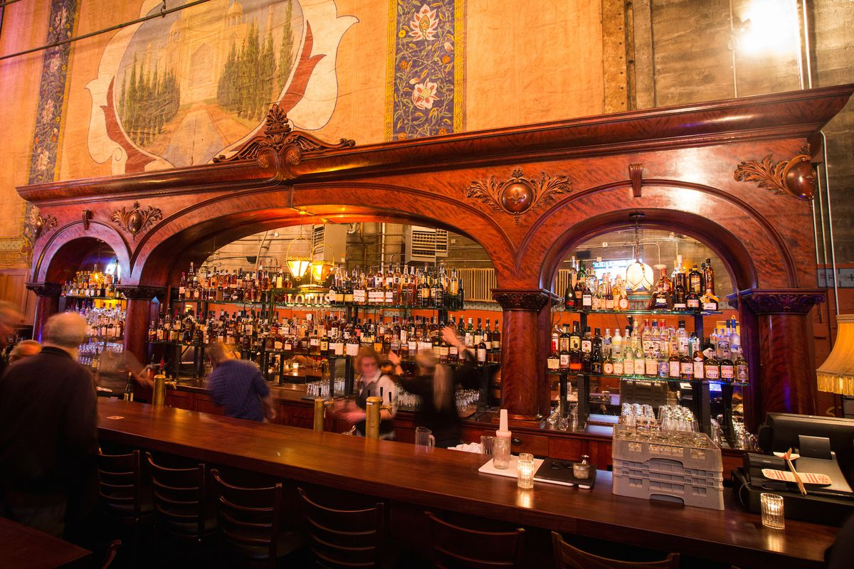 See The Lotus Cardroom's 130-Year-Old Bar In New Home At