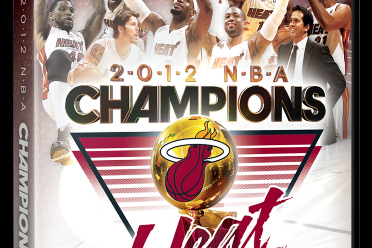 2012 Miami Heat NBA Championship DVD