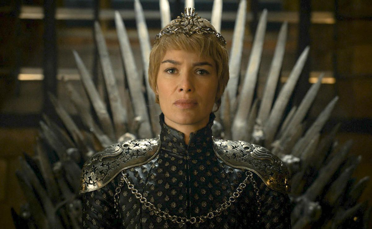 """In this image released by HBO, Lena Headey appears in a scene from """"Game of Thrones."""" """"Game of Thrones"""" and """"Veep"""" are among the top contenders for the 68th prime-time Emmy Award nominations. The shows claimed the top drama and comedy series prizes at la"""